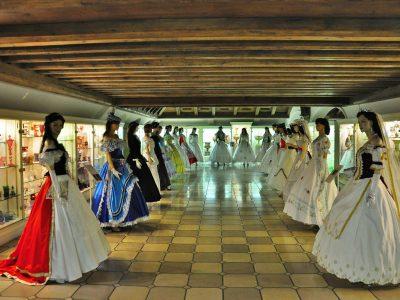Sissi-Kleiderausstellung 2017 in Passau