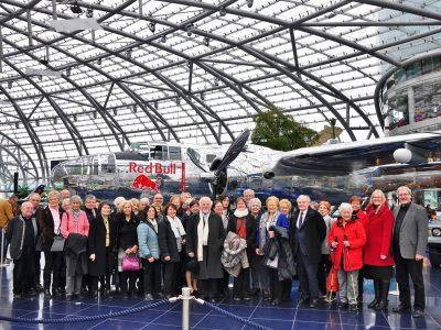 Faschingsmatinee in Salzburg 2017 und Besuch Red Bull Museum