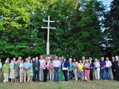 Feier am Stephanskreuz auf dem Hammerberg 2017