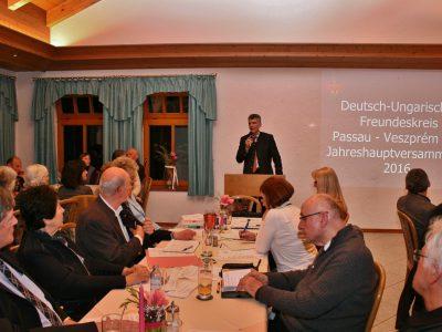 Jahreshauptversammlung 2016 im Gasthaus Vogl