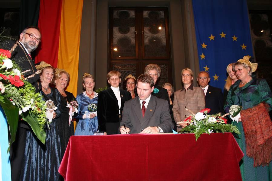 10 Jahr-Feier im Rathaus Passau